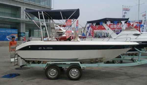 2015 Allmand FRP Pleasure Boat QD 16ft OPEN