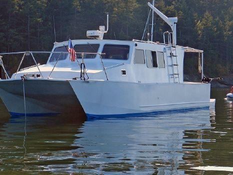 2008 Boden Aluminum Power Catamaran