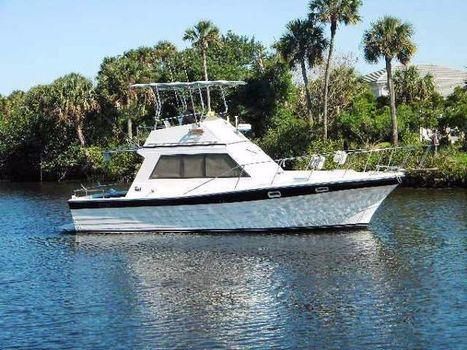 1991 Pequod Yachts Semi-Custom Sedan  Profile