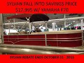 2015 Sylvan 820 Mirage