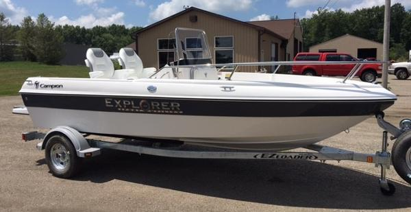 2017 Campion Explorer 492 Center Console