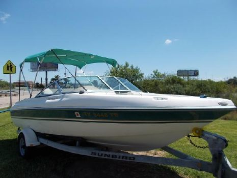 1998 Sunbird 19 FISH AND SKI