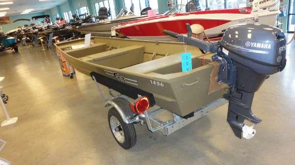 New 2015 g3 boats 1436 lw augusta ga 30909 for Yamaha dealer augusta ga