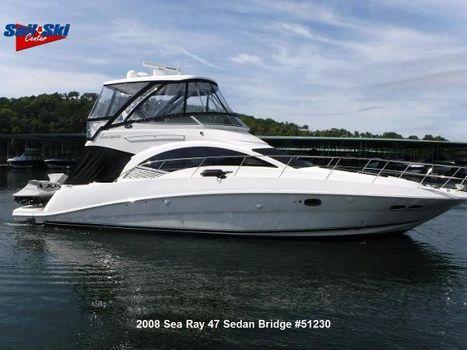 2008 Sea Ray 47 Sedan Bridge