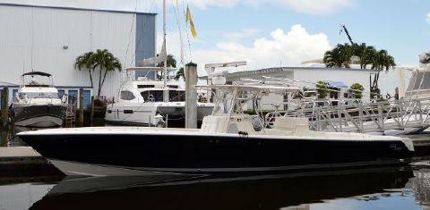 2008 Sea Vee 390 Inboard IPS Port Side View