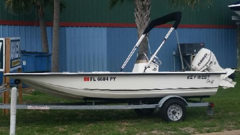2013 Key West 166 Skiff