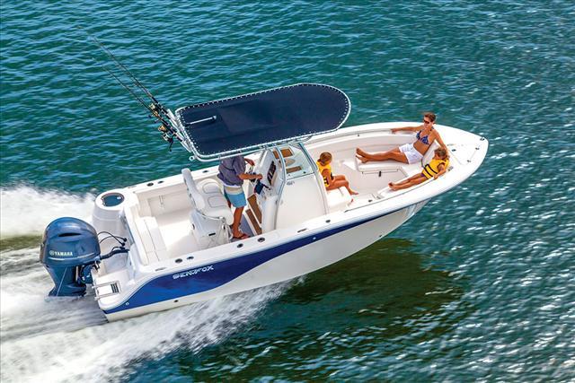 2015 Sea Fox Commander 226 CC