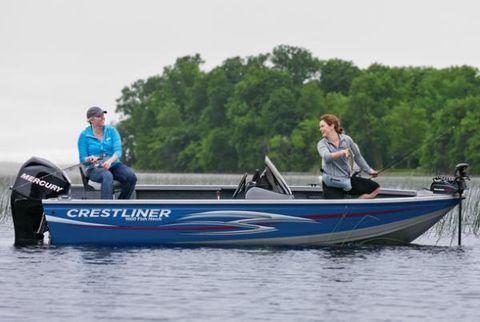 2013 Crestliner 1600 Fish Hawk