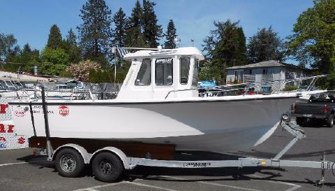 1997 Shamrock 200 Pilothouse