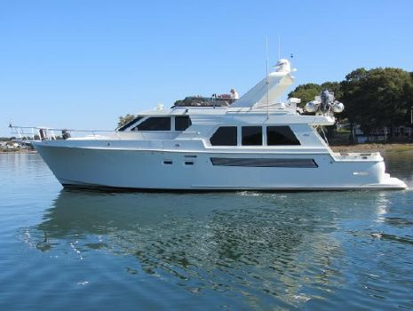 1996 Tolly 57 Wide Body Pilothouse Profile