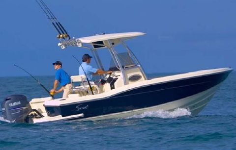 2008 Scout 222 Sportfish Manufacturer Provided Image