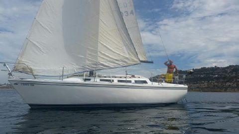 1980 Catalina 30 AT SAIL