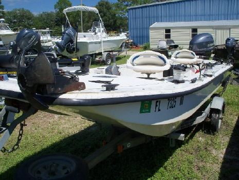 2011 Carolina Skiff 16 JVX Stick Steering