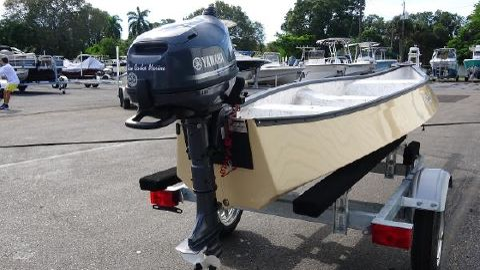2017 Gheenoe 15'4 HI SIDER With 4HP