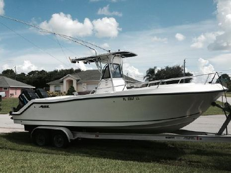 2000 Mako 252 Center Console 2000 Mako Center Console With Trailer
