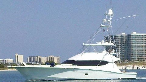 2009 Hatteras 68GT Profile Port View