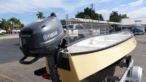 2017 Gheenoe 15'4 HI SIDER With 6HP & Trailer