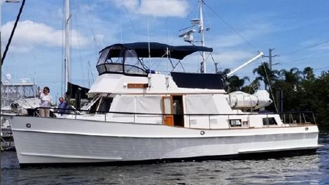 1996 GRAND BANKS 42'Classic