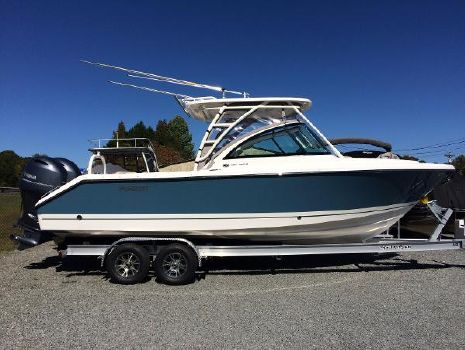 2018 PURSUIT DC 265 Dual Console