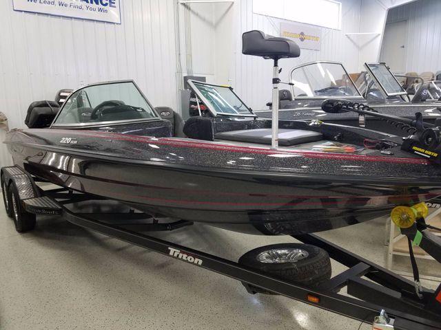 Triton 220 escape new and used boats for sale for Triton fish and ski