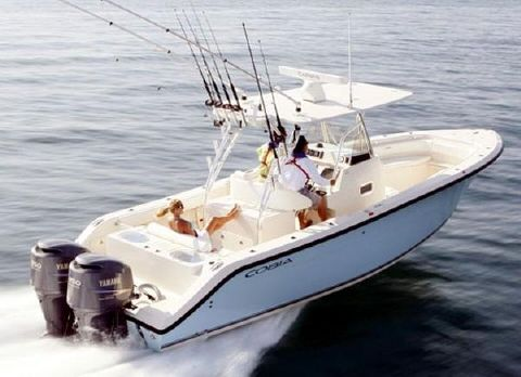 2013 Cobia Boats 296 Center Console Manufacturer Provided Image Side