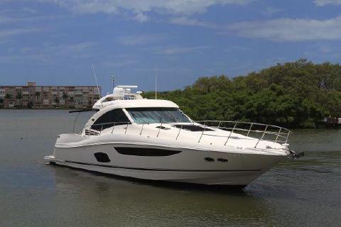 2013 Sea Ray 610 Sundancer Port Profile