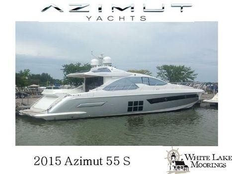 2015 Azimut 55S