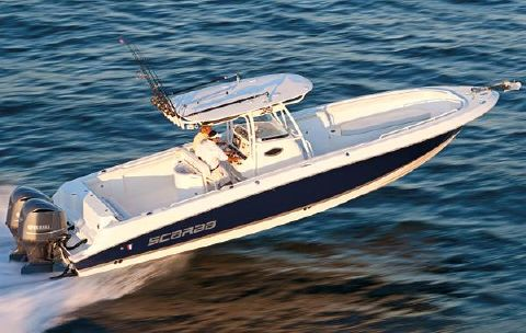 2016 Wellcraft 35 Scarab Offshore Tournament Manufacturer Provided Image