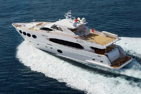 2014 Majesty Yachts 105 105 Running (manuf)