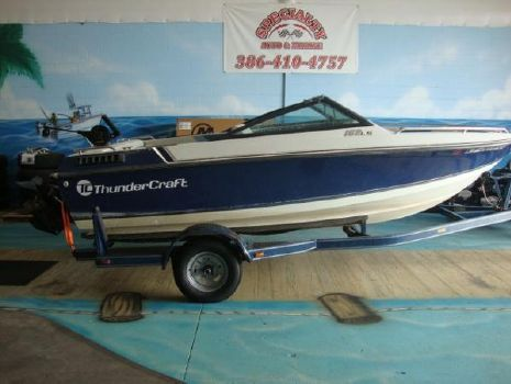 1989 Thundercraft 162LS