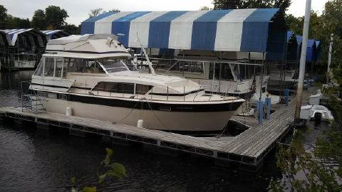 1981 Chris-Craft 410 Commander Yacht 1981 Chris Craft 410