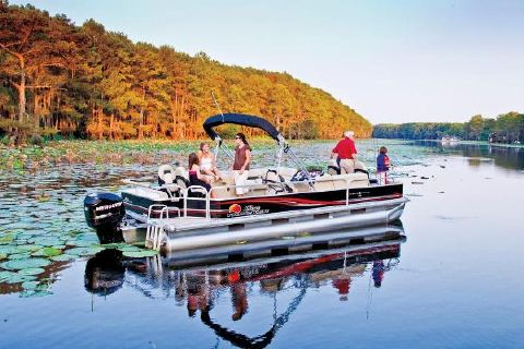 2013 Sun Tracker Fishin' Barge 24 DLX