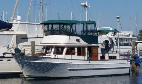 1998 Marine Trader 38 Double Cabin Trawler