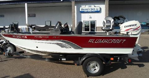 2013 Alumacraft Competitor 175 CS