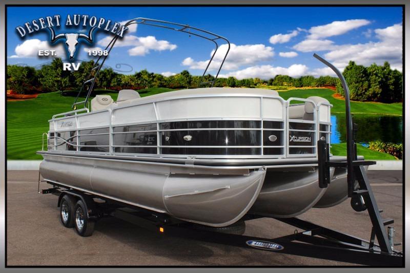 2016 Xcursion 23C Pontoon Boat 3.0 Package