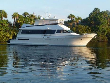 1991 Viking Motor Yacht Profile