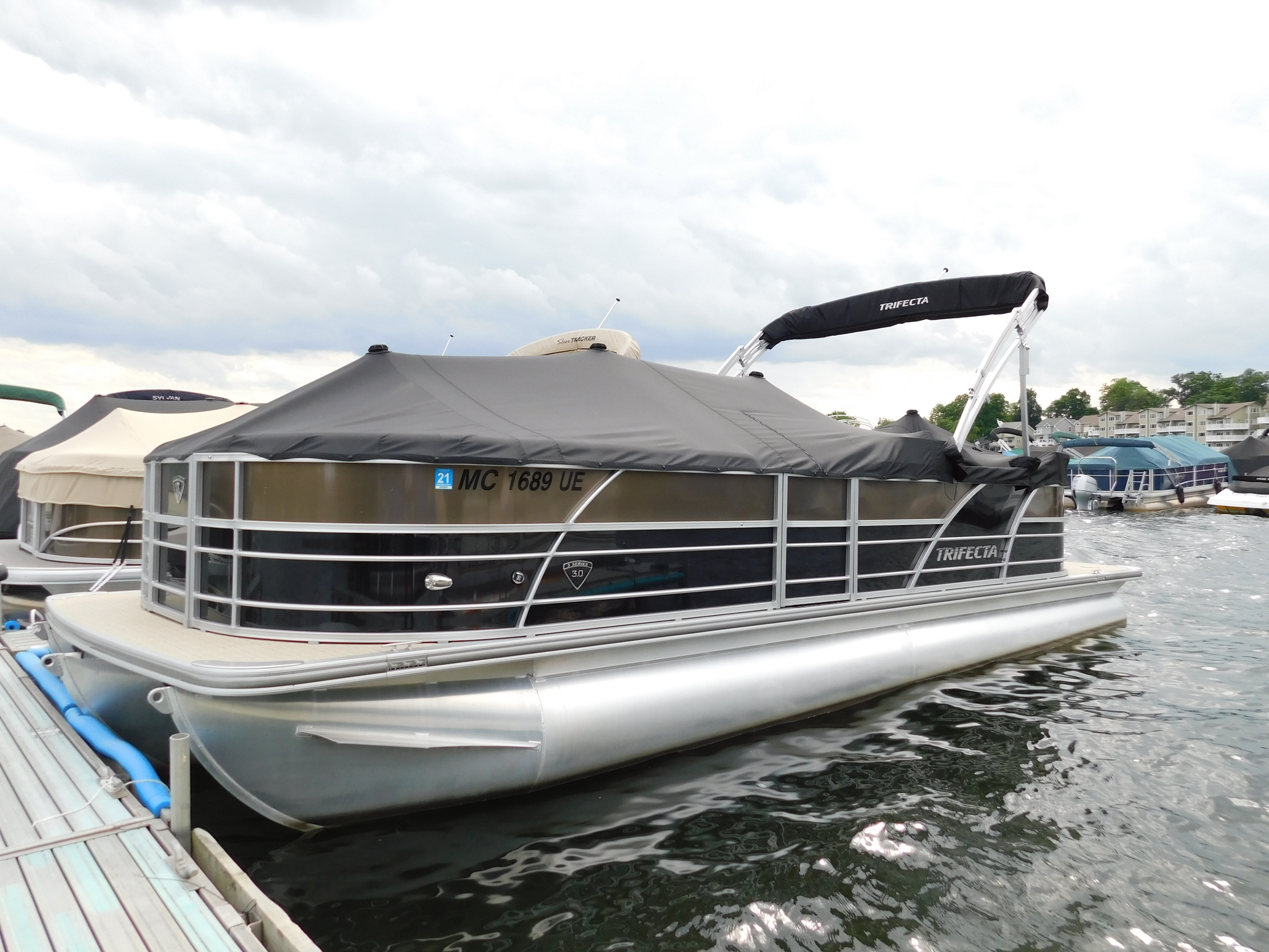 Tritoon For Sale >> Check Out This 2018 Trifecta Tritoon On Boattrader Com
