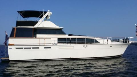 1982 Bertram 58 Flybridge Motor Yacht