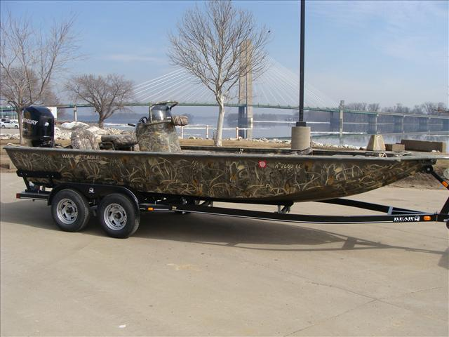 War eagle boat listings for Used fishing boats for sale in iowa