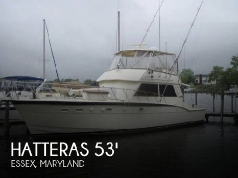 1982 Hatteras 55 Convertible 1982 Hatteras 55 Convertible for sale in Essex, MD