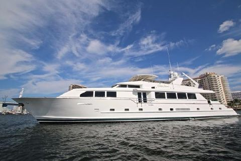 1994 Broward Raised Pilothouse 110' Broward Motor Yacht CEDAR ISLAND