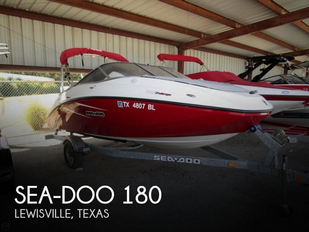 2010 Sea Doo 180 18 Foot 2010 Sea Doo Motor Boat In