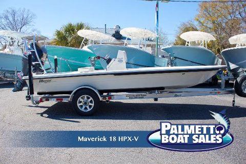 2017 Maverick Boat 18 HPX-V Profile
