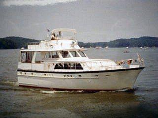 1972 Matthews Boats Motor Yacht 56 FB MY Tri-Cabin