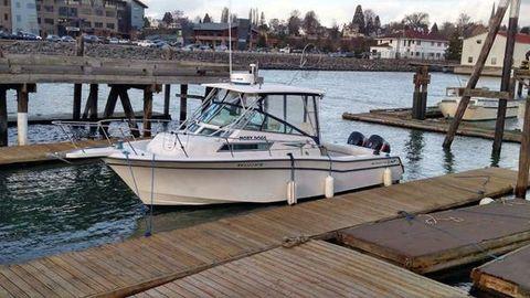 1990 Grady-White Marlin 300 Profil