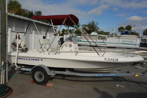 1997 WELLCRAFT 160 CCF CENTER CONSOLE
