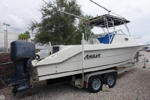 2001 Angler Boats 2550 Walkaround 2001 Angler 2550 Walkaround for sale in Lake Worth, FL