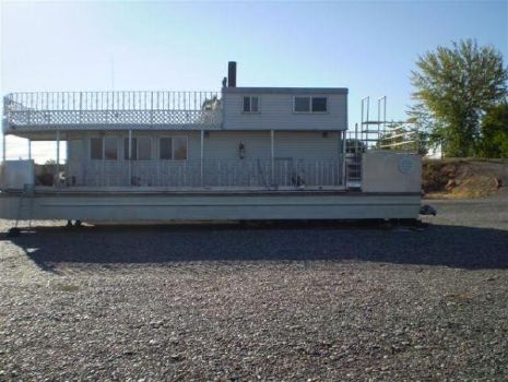 1994 Custom Pontoon Houseboat Pontoon Profile