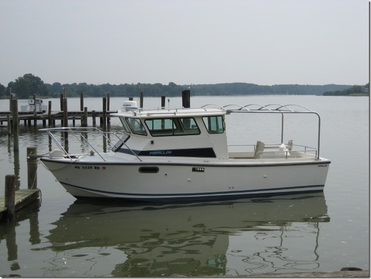 1994 Farallon 25 Whaleback Port Profile