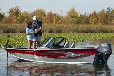 2017 Smoker-craft 162 Pro Angler XL Manufacturer Provided Image